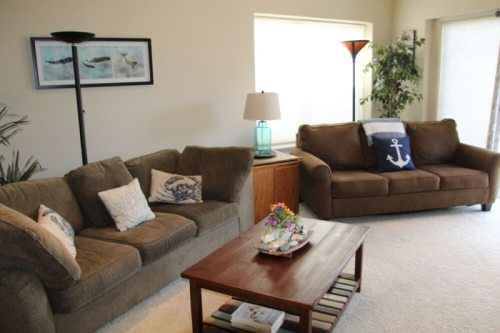 Don't Worry, Beach Happy Living Room Sofas