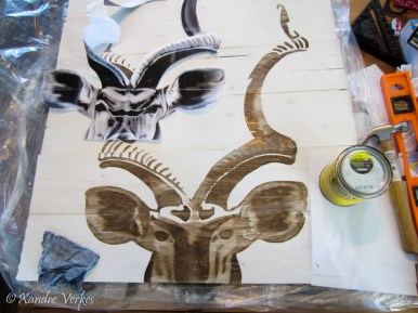 Xandre Verkes - Stained Kudu Art-7