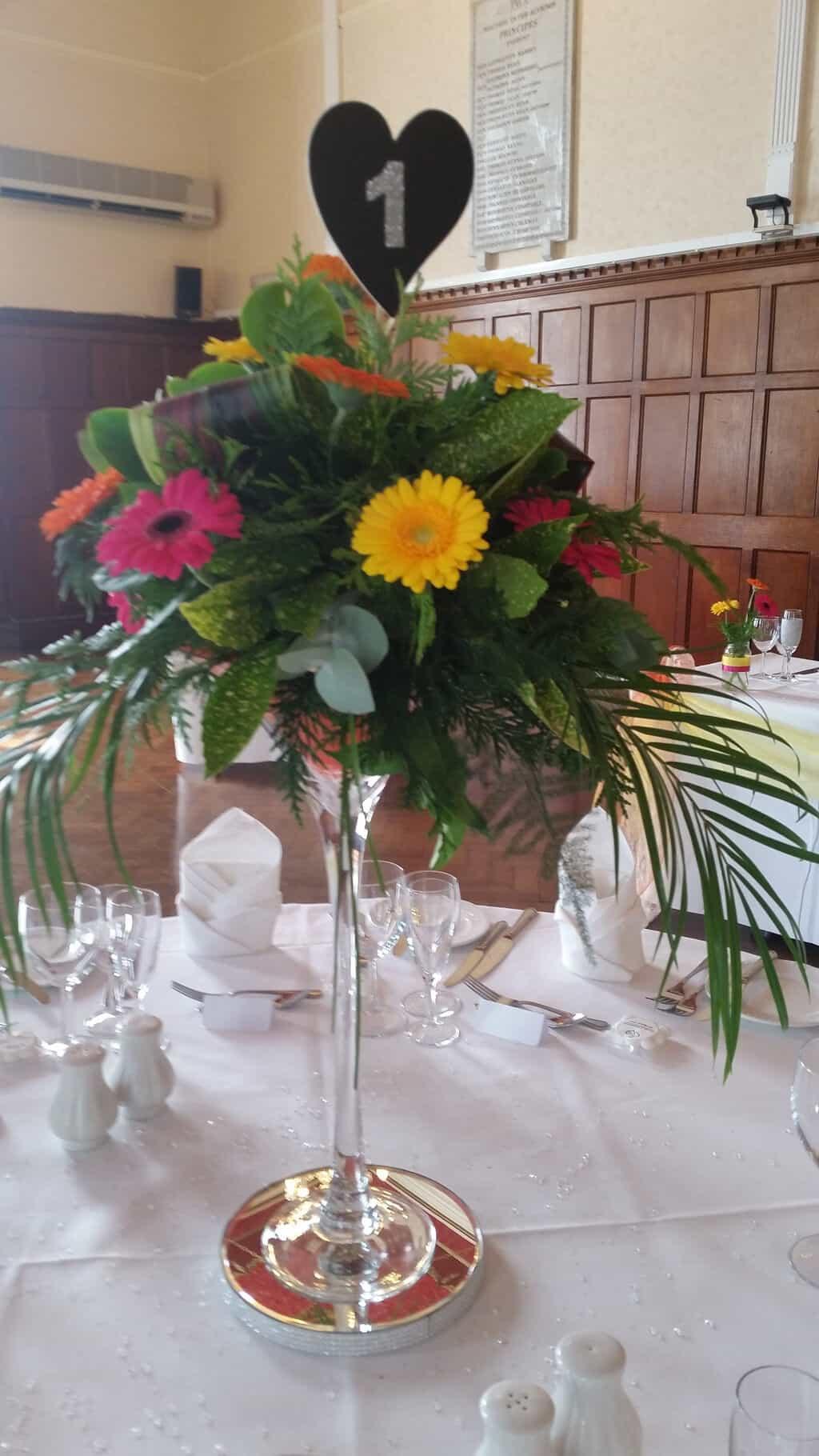 Vase Arrangement   Wild Daisy Florist