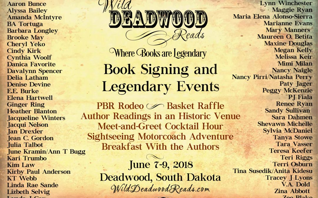 Wild Deadwood Reads Author Roster