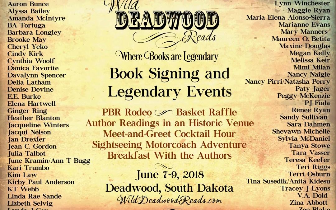 Wild Deadwood Reads Author List