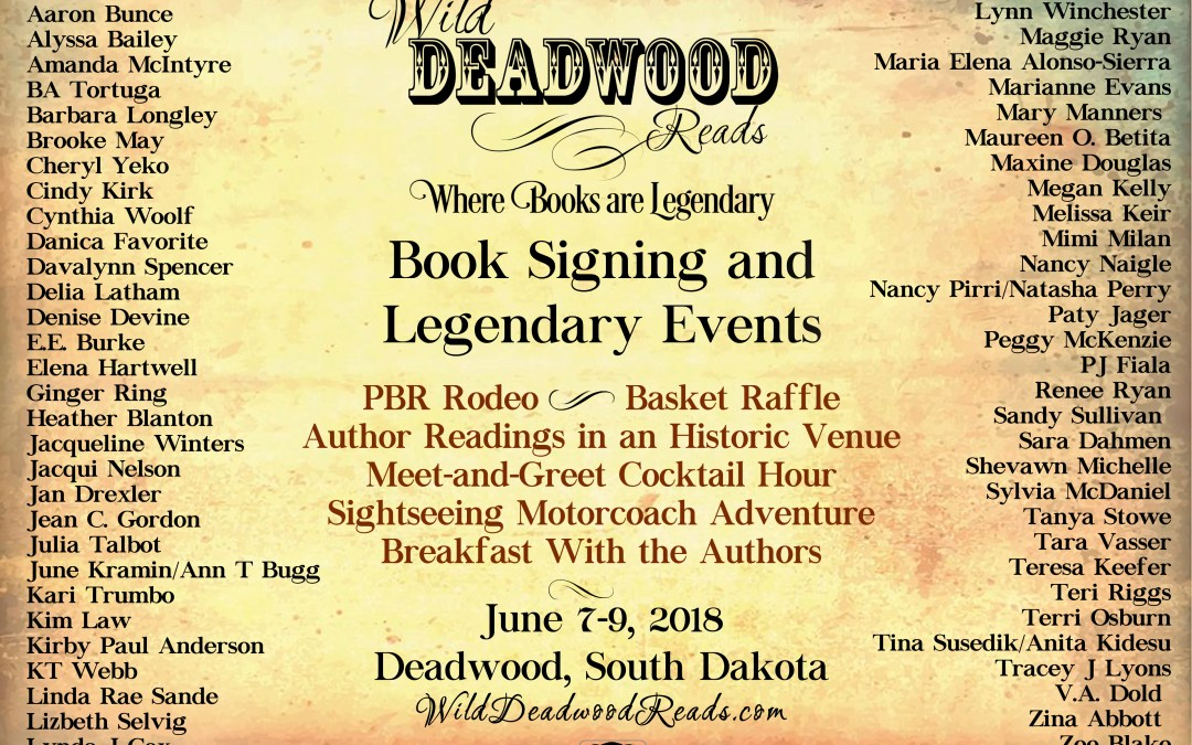 Wild Deadwood Reads Author List