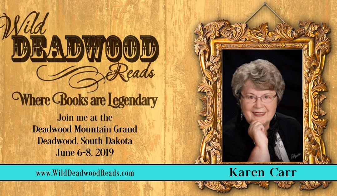 Meet our Authors – Karen Carr
