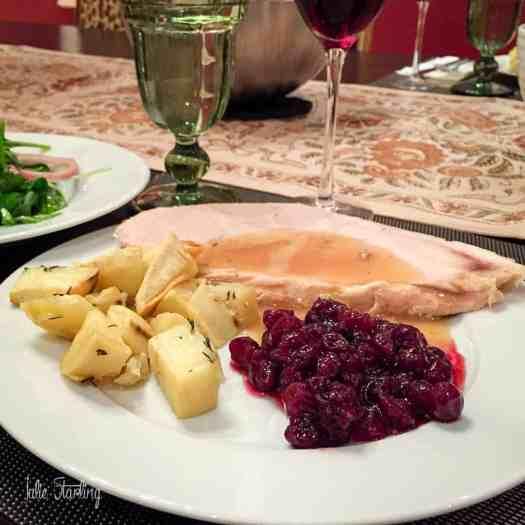 Turkey Breast & Gravy in Slow Cooker