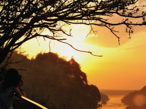 Discover Uganda Safari Tour Adventure - Murchison Falls National Park Sunset View