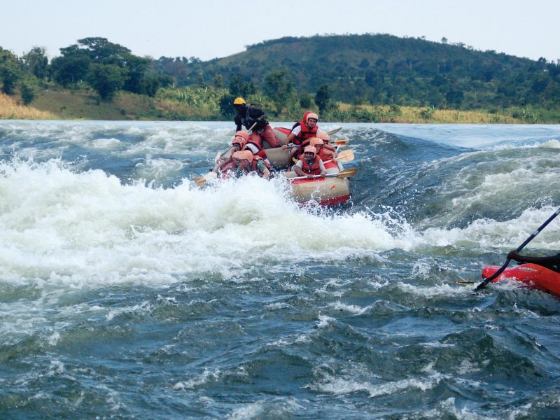 Jinja Source of the nile Kayaking - whitewater rafting
