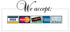 Accept Visa MasterCard Discover