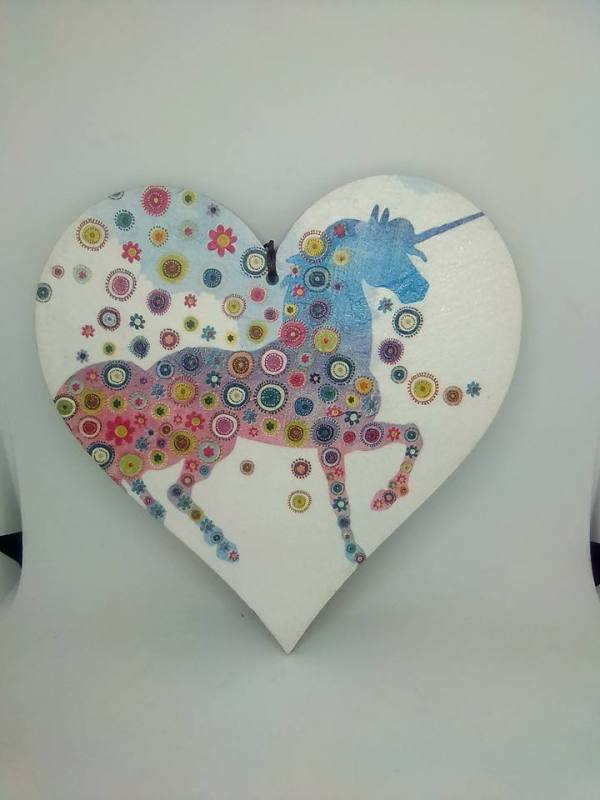 unicorn colourful
