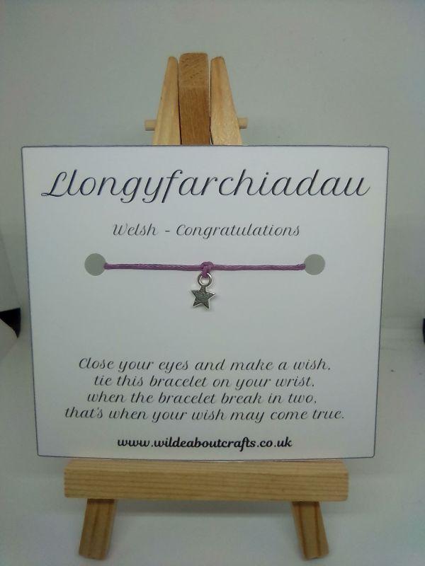 Congratulations welsh