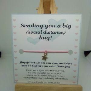 social distance hug