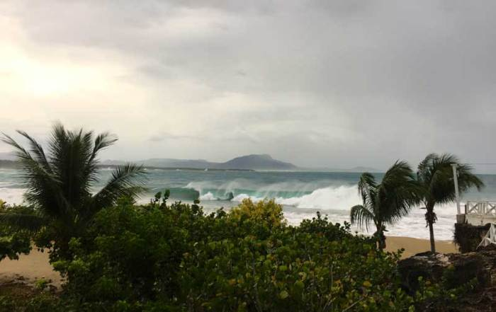 Hurricane Irma to Tropical Storm in the Dominican Republic's North Coast