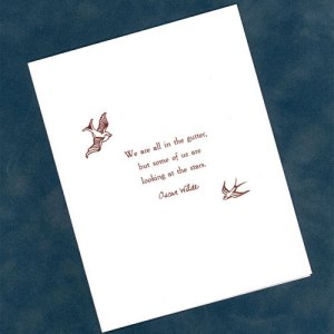Looking at the Stars Card by Wilde Designs
