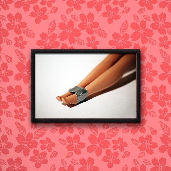 Barbie Murders Bondage Poster by Wilde Designs