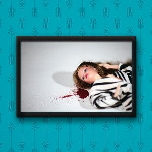 Barbie Murders Gunshot Poster by Wilde Designs