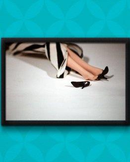 Barbie Murders Gunshot Poster by Wilde Designs