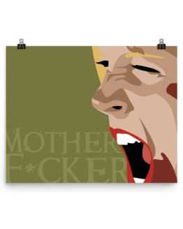 mother f*cker baby print by wilde designs