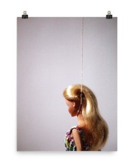barbie murders hanging poster by wilde designs