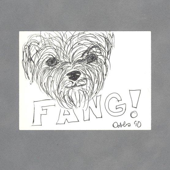 Fang Art Card by Wilde Designs
