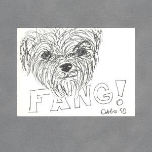Fang Art Card by Wilde Designs
