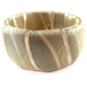 Go for the Gold Bangle Bracelet by Wilde Designs