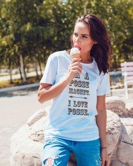 I Love Posse Tshirt by Wilde Designs