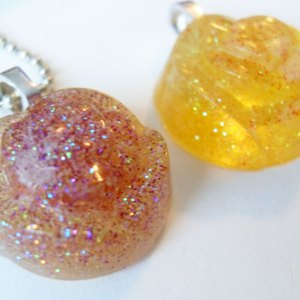 Glittery Rose Necklaces by Wilde Designs