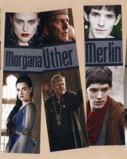 Merlin Bookmarks by Wilde Designs