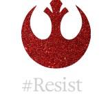 Rebellion #Resist Phone Wallpaper by Wilde Designs