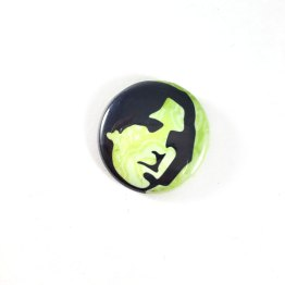 Oscar Wilde Pinback Button by Wilde Designs