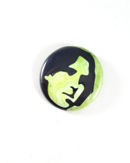 Oscar Wilde Pinback Button by Wilde Designs
