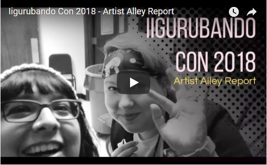 Iigurbando Con Artist Alley Vlog by Elia in a Box
