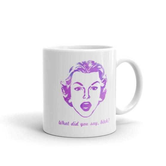 Retro B*tch Mug by Wilde Designs