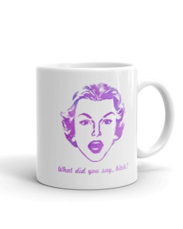 Retro B*tch Mug by Wilde Designs
