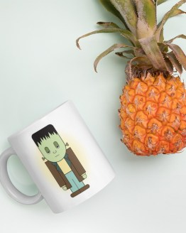 Kawaii Frankenstein's Monster Mug by Wilde Designs