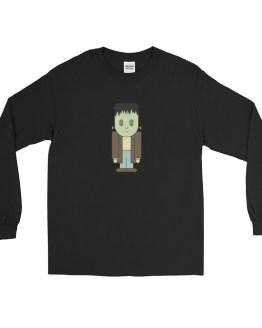 Kawaii Frankenstein's Monster Long Sleeve tshirt by Wilde Designs
