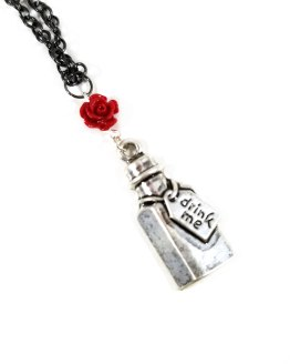 Drink Me Necklace by Wilde Designs