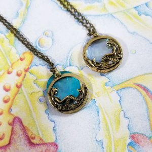 Mermaid Moon Necklace by Wilde Designs