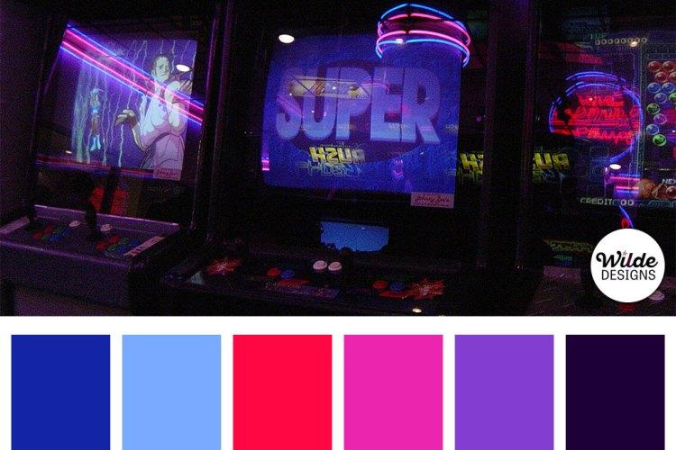 Arcade Neon Wilde Schemes by Wilde Designs