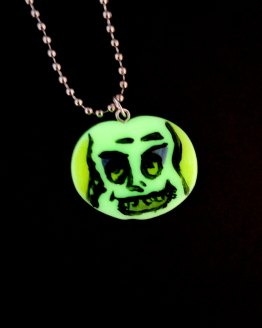 Beetlejuice Glow in the Dark Necklace by Wilde Designs