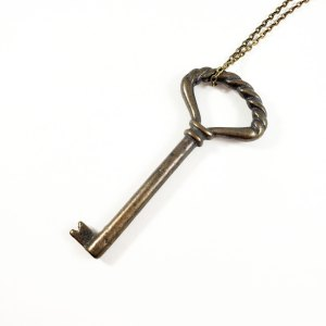 Key to the Cortez Necklace by Wilde Designs