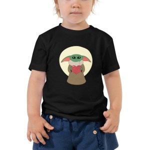 Yodaling is the Way Toddler Short Sleeve Tee