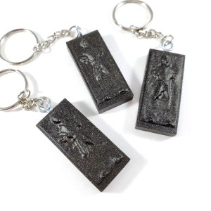 Carbon Freeze Keychain by Wilde Designs