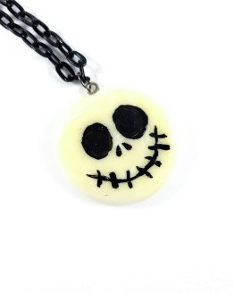 Jack Skellington Inspired Glow in the Dark Necklace by Wilde Designs