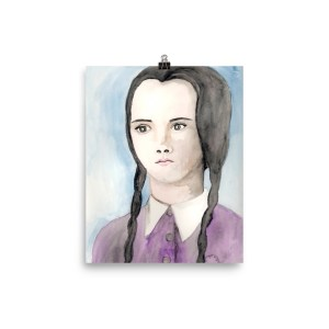 Wednesday Addams Poster by Wilde Designs