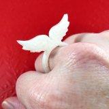 Ineffable Angel Wings Ring by Wilde Designs