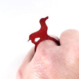Puppy Love Dachshund Ring by Wilde Designs