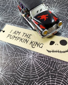 Pumpkin King Bookmark by Wilde Designs