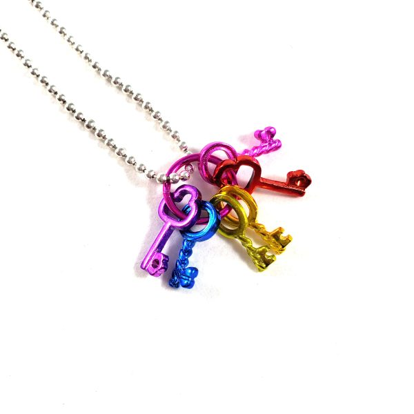 Keys to the 90s Kid Kingdom Necklace by Wilde Designs