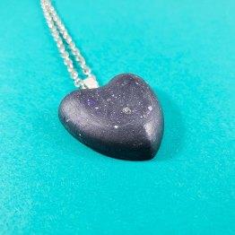 Heart of Beskar Necklace by Wilde Designs