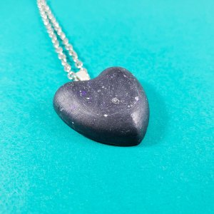Heart of Beskar Necklace by Wilde Designs